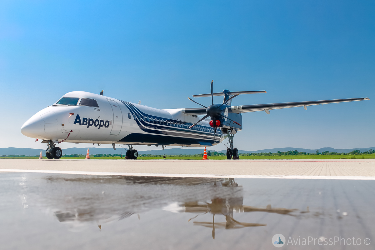 Avrora Airlines will receive five Twin Otter 400 aircraft for flights to the Kuril Islands 54