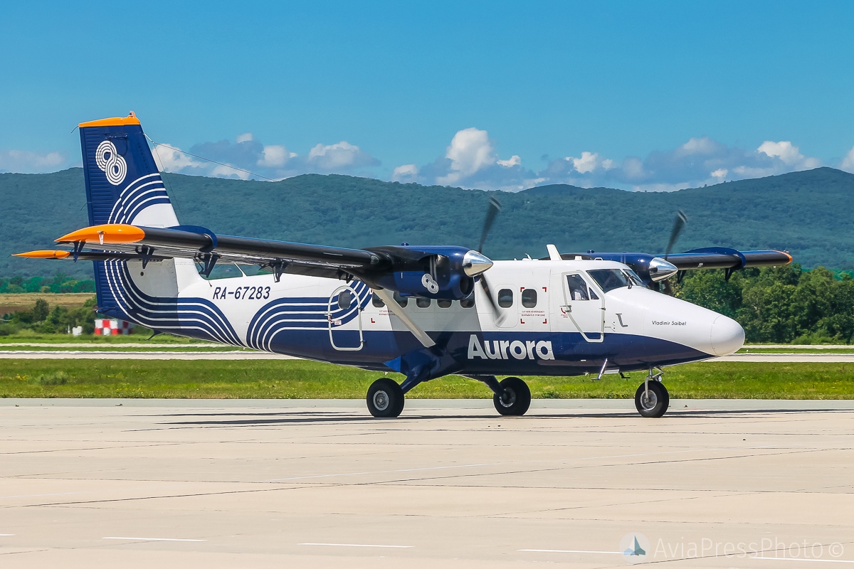 Avrora Airlines will receive five Twin Otter 400 aircraft for flights to the Kuril Islands 60